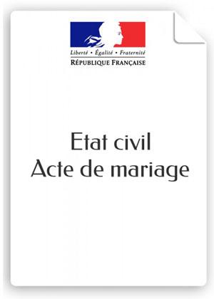 En ukraine certificat de naissance mariage